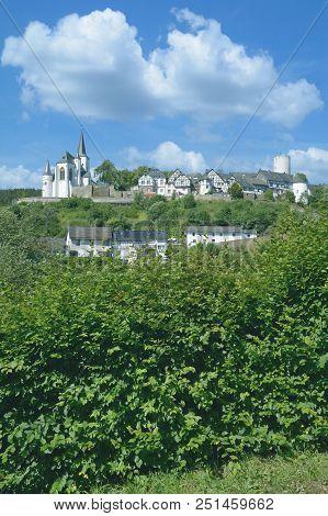 Idyllic Village Of Reifferscheid In Eifel Near Hellenthal,north Rhine Westphalia,germany