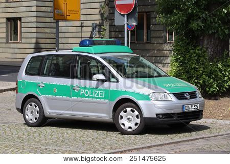 Germany Police Car
