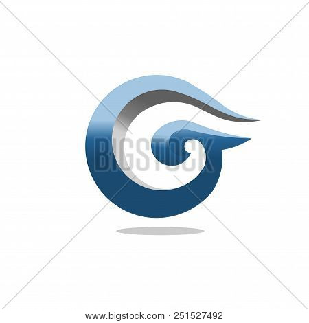 Best letter g 3d art vector photo free trial bigstock best letter g 3d art concept business logo design template letter g circle style logo maxwellsz