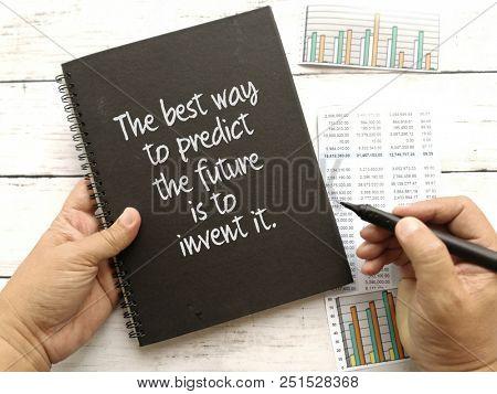 Quotes on predict the future