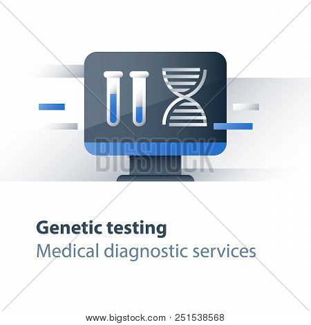 Dna Testing, Genetic Spiral, Medical Test, Health Care, Genealogical Analysis Services, Personalized
