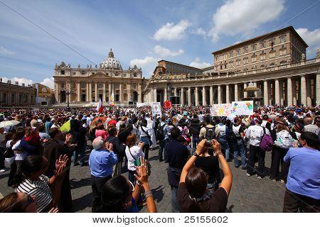 Vatican Pilgrims
