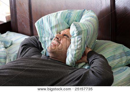Man met slaapproblemen