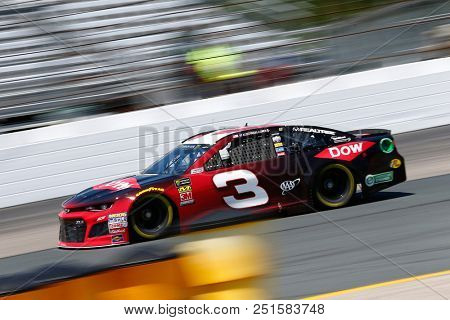 July 20, 2018 - Loudon, New Hampshire, USA: Austin Dillon (3) takes to the track to practice for the Foxwoods Resort Casino 301 at New Hampshire Motor Speedway in Loudon, New Hampshire.