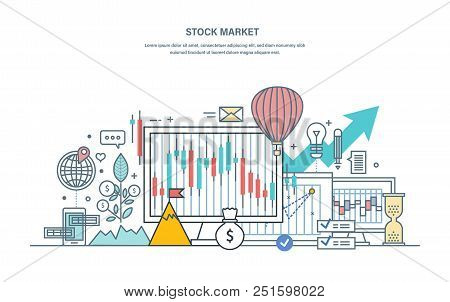 Financial Stock Market, Protection Of Trades, Capital Market, E-commerce, Investments, Trade Marketi