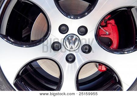 Volkswagen Aluminium Wheel
