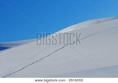 Steps In Snow