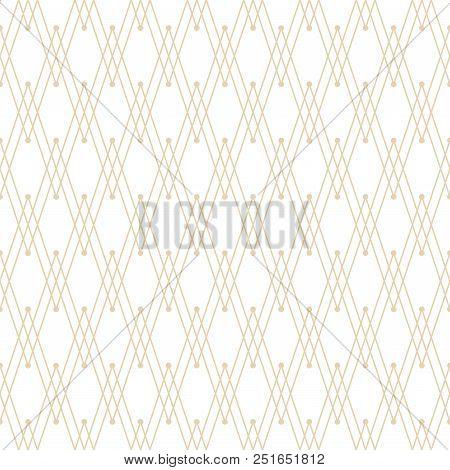 Vector Seamless Texture. Modern Zigzag Pattern