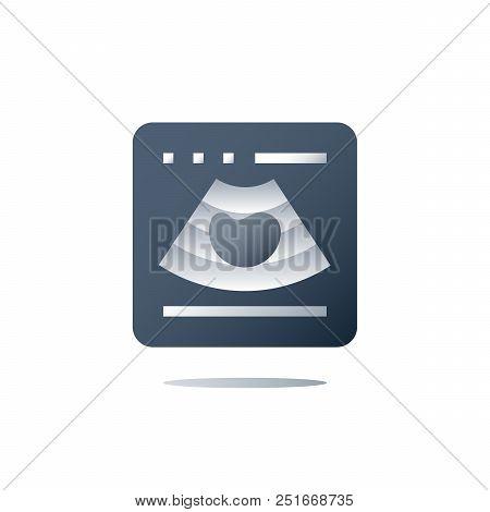 Ultrasound Investigation, Ultrasonography Concept, Focused Abdominal Sonogram For Trauma, Medical Ex