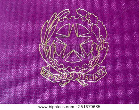 Italian Republic Coat Of Arms