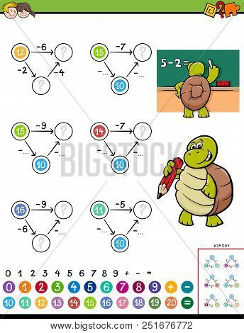 Maths Subtraction Educational Game For Kids