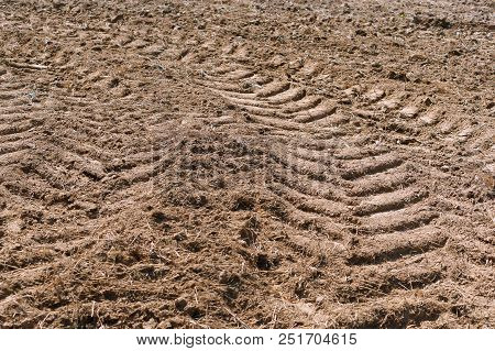 Plowed Field, Agricultural Land, Land Plowed For Planting
