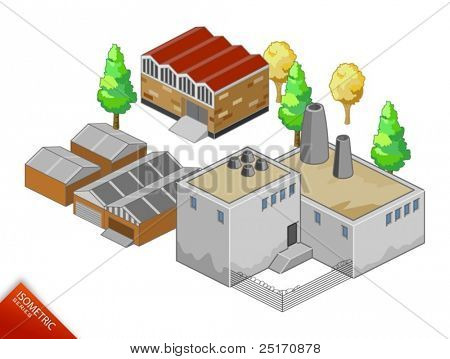 Isometric vector Objects. Isometric Series. Compose Your Own World Easily with Isometric Works. Please browse my works.