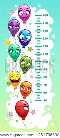 Kids Height Chart Vector Photo Free Trial Bigstock