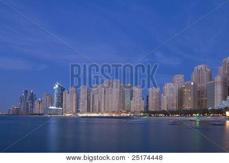 City Scape, residencia de la playa de Jumeirah, Dubai