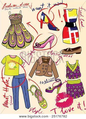 fashion story for glamour magazine