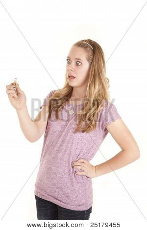 Girl Not Liking Bullet