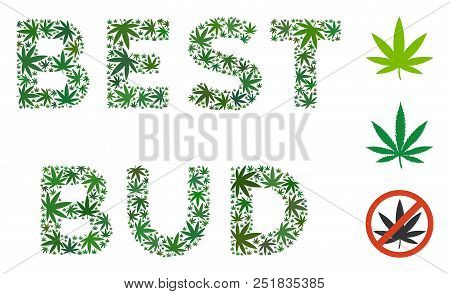 Best Bud Text Vector Photo Free Trial Bigstock