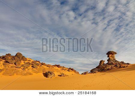 Akakus Mountains, Sahara, Libya
