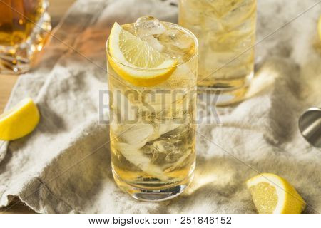 Homemade Seven And Seven Whiskey Highball