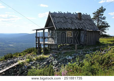 Santa's Cottage In Summer