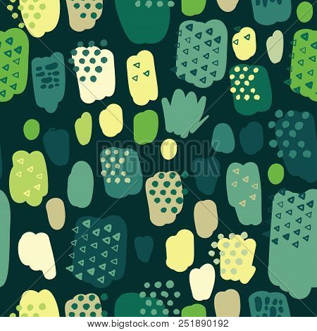 Trendy Pastel Scribbles Pattern. Abstract Fabric Texture Background. Spring Wallpaper Design