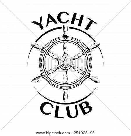 Yacht Club Logo Vector Photo Free Trial