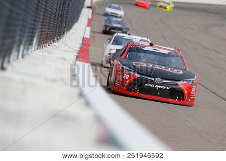 July 28, 2018 - Newton, Iowa, USA: Christopher Bell (20) brings his racecar down the backstretch during the US Cellular 250 at Iowa Speedway in Newton, Iowa.