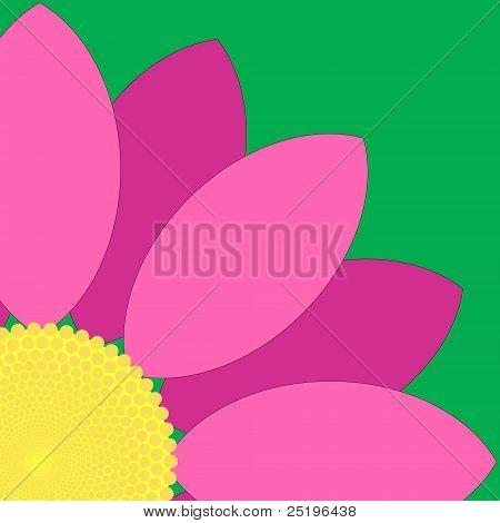 Pink Flower Quarter