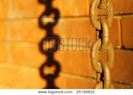 Old Rusted Chain