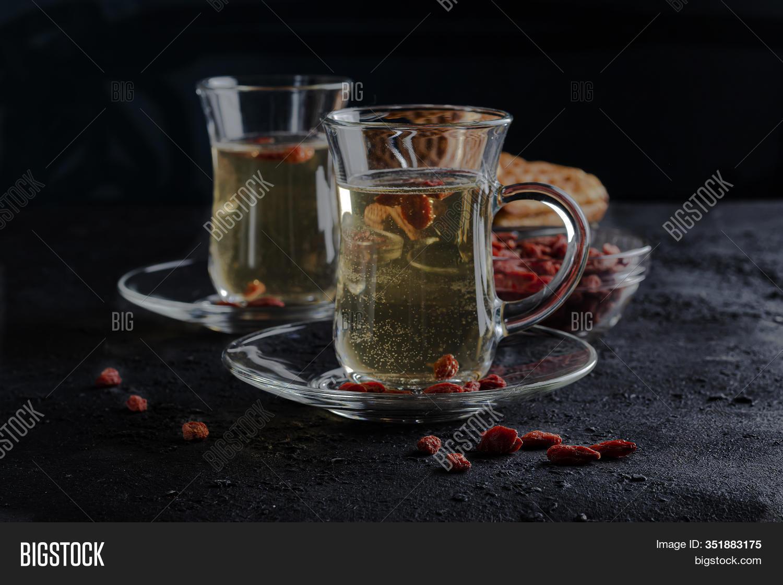 Goji Berry Drink Image Photo Free Trial Bigstock