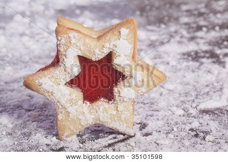Jelly cookies star