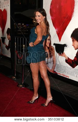 LOS ANGELES - FEB 1:  Edyta Sliwinska arrives at the