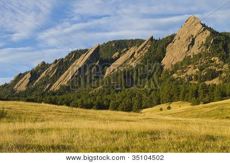 Flatiron Morning Light Boulder Colorado