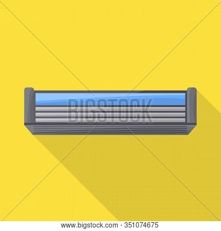 Isolated Object Of Blade And Shaver Icon. Graphic Of Blade And Safety Stock Vector Illustration.