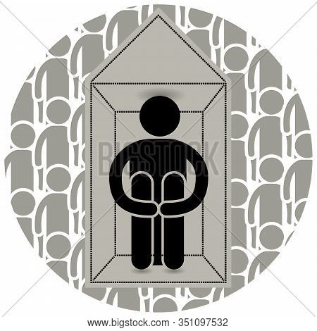Agoraphobia. Fear Of Entering Open Or Crowded Places. Locked Himself At Home. Afraid To Go Outside.