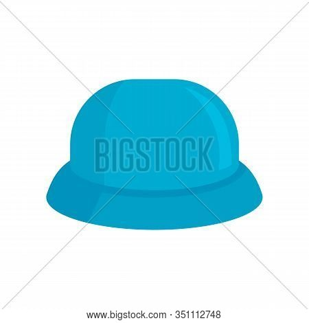 Childrens Hat Flat Icon. Vector Childrens Hat In Flat Style Isolated On White Background. Element Fo
