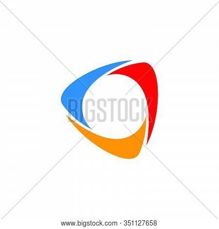 Triangle Icon Vector Design
