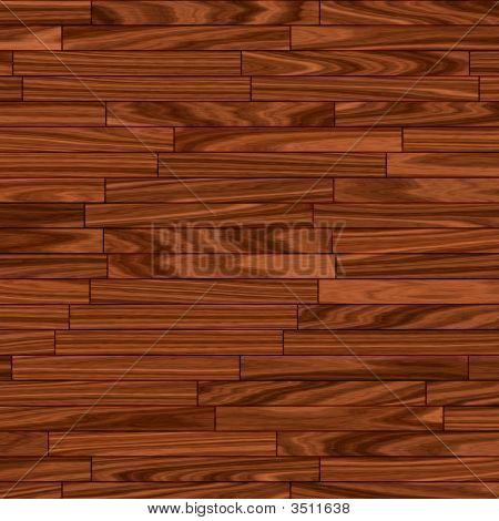 Warm Brown Parquet Flooring