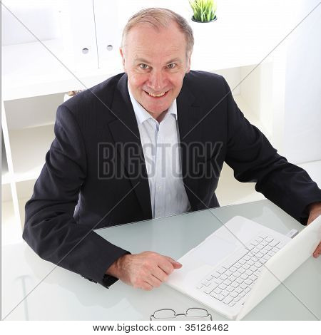 Enthusiastic Business Executive