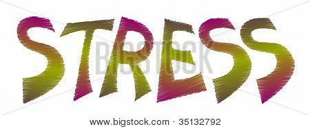 Logotipo de estrés