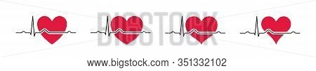 Set Heartbeat Icons Red