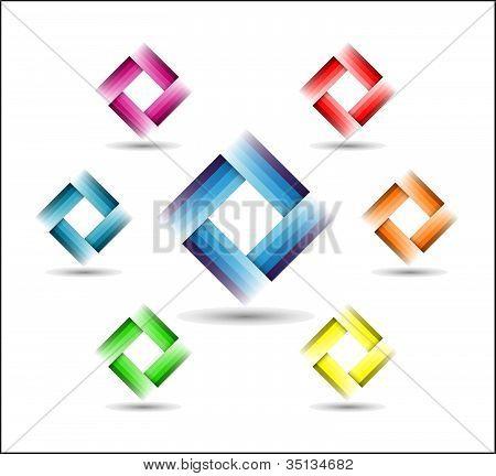 Color Rectangle Symbol