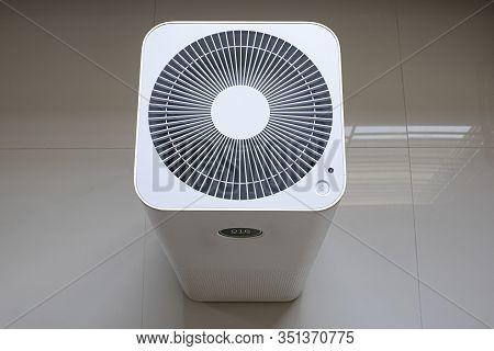 Air Purifier Wind Fan Turn On Motion