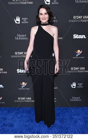 LOS ANGELES - JAN 25:  Michelle Dockery arrives for the G'Day USA Gala on January 25, 2020 in Beverly Hills, CA