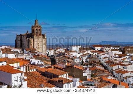 Church Of San Bartolome In Feria. Extremadura. Spain.