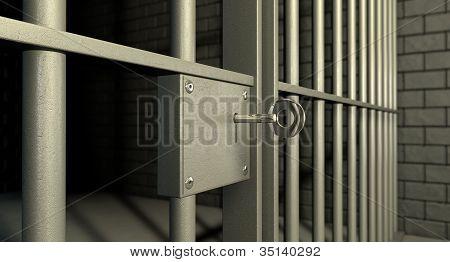 Jail Cell Door Lock
