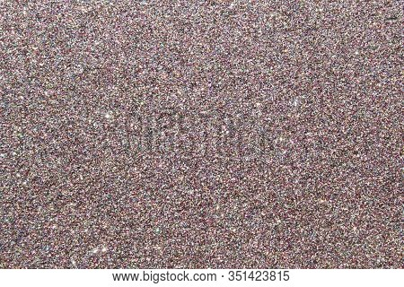 The Picture Shows A Background With Pink Glittery Paper