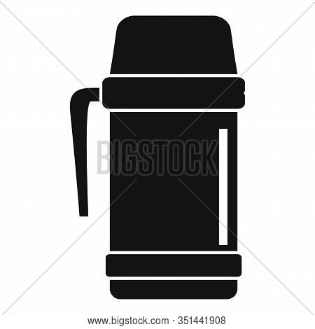 Vacuum Insulated Cup Icon. Simple Illustration Of Vacuum Insulated Cup Vector Icon For Web Design Is