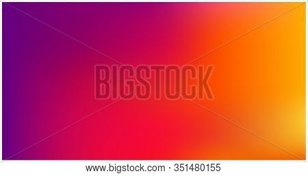 Soft Color Mesh Gradient Background. Abstract Vector Design. Concept For Graphic Design Banner Or Po